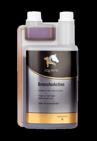 Lindert den Hustenreiz beim Pferd - Equanis BronchoActive